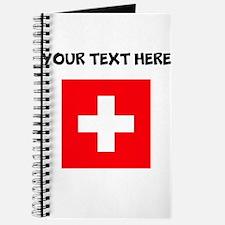 Custom Switzerland Flag Journal