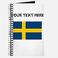 Custom Sweden Flag Journal