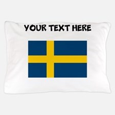 Custom Sweden Flag Pillow Case