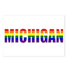Michigan Pride Postcards (Package of 8)