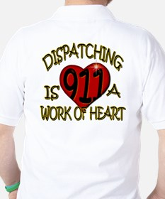 """Dispatching is a work of heart"" (TM) T-Shirt"