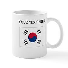 Custom South Korea Flag Mugs