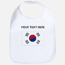Custom South Korea Flag Bib