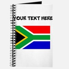 Custom South Africa Flag Journal