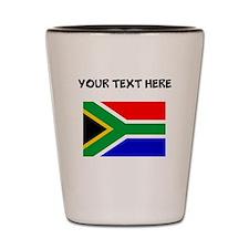 Custom South Africa Flag Shot Glass