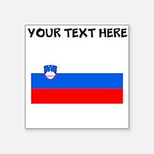 Custom Slovenia Flag Sticker