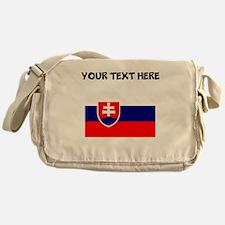 Custom Slovakia Flag Messenger Bag