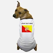 Custom Sicily Flag Dog T-Shirt