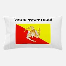 Custom Sicily Flag Pillow Case