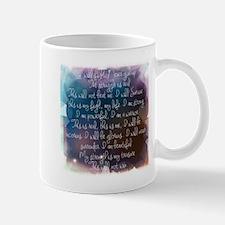 I am beautiful Mugs