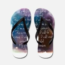 I am beautiful Flip Flops