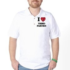 I love Third Parties T-Shirt