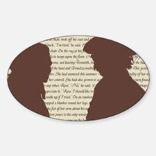 The Poldarks Sticker (Oval)