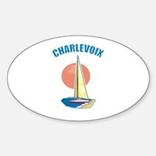 Charlevoix Oval Decal