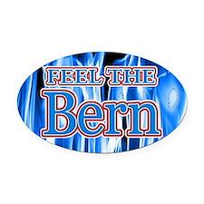 Bernie 2016 Oval Car Magnet