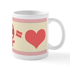 Me & You = Love Valentine's Day Mug