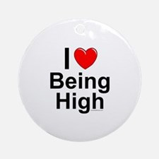 Being High Ornament (Round)