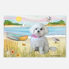 Rowboat / Maltese (R) Postcards (Package of 8)