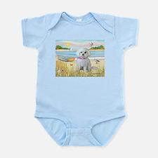 Rowboat / Maltese (R) Infant Bodysuit