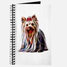 Unique Yorkie birthday Journal