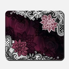 Lace & Roses Mousepad