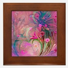 Special Flowers 4 You by Sherri Nichol Framed Tile