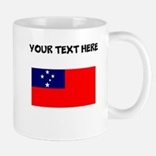 Custom Samoa Flag Mugs