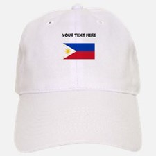 Custom Philippines Flag Baseball Baseball Baseball Cap