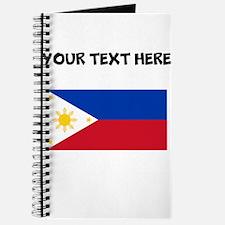 Custom Philippines Flag Journal