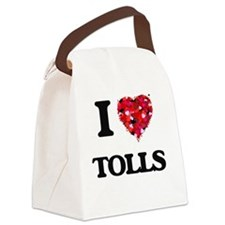 I love Tolls Canvas Lunch Bag