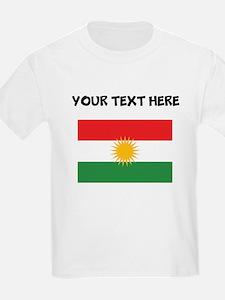 Custom Kurdistan Flag T-Shirt