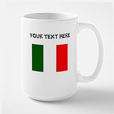 Custom Italy Flag Mugs