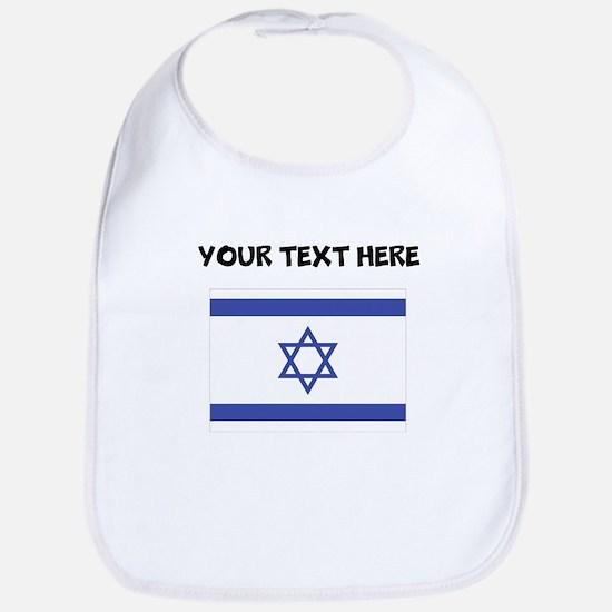 Custom Israel Flag Bib