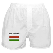 Custom Hungary Flag Boxer Shorts
