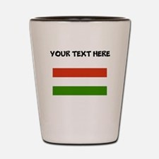Custom Hungary Flag Shot Glass