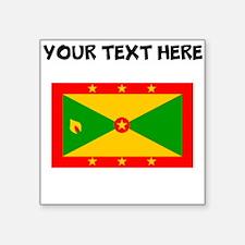 Custom Grenada Flag Sticker