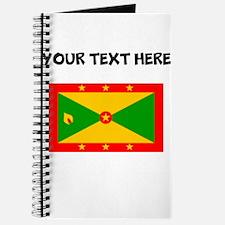 Custom Grenada Flag Journal