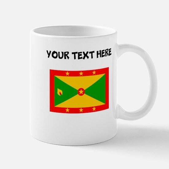 Custom Grenada Flag Mugs