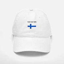 Custom Finland Flag Baseball Baseball Baseball Cap