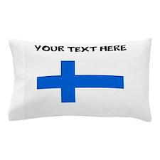 Custom Finland Flag Pillow Case