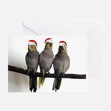 We Three Tiels Greeting Card