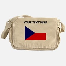 Custom Czech Republic Flag Messenger Bag