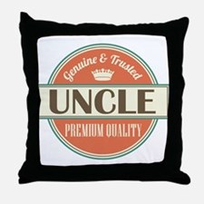 Uncle Fathers Day Throw Pillow