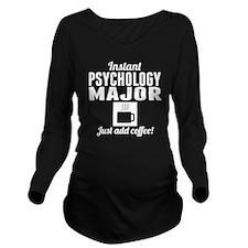 Instant Psychology Major Long Sleeve Maternity T-S
