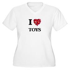 I love Toys Plus Size T-Shirt