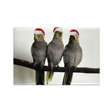 We Three Tiels Holiday Magnet