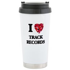 I love Track Records Travel Mug