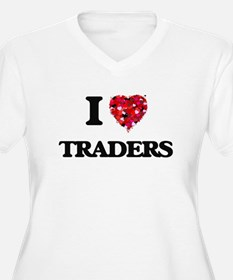 I love Traders Plus Size T-Shirt
