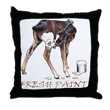 Fresh Paint (W) Throw Pillow