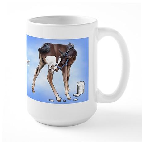 Fresh Paint Large Mug
